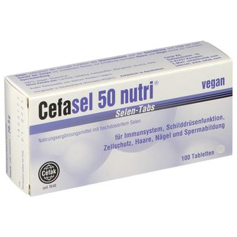 Cefasel 50 nutri® Selen-Tabs