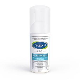 Cetaphil® PRO Itch Control Pflegeschaum + 88 ml Cetaphil® Tagespflege mit Hyaluronsäure GRATIS