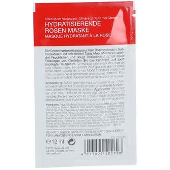 DERMASEL® Totes Meer Mineralien Hydratisierende Rosen Maske