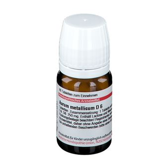 DHU Aurum Metallicum D6