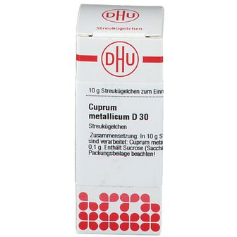 DHU Cuprum Metallicum D30
