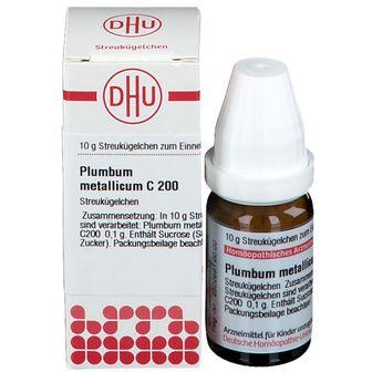 DHU Plumbum Metallicum C200