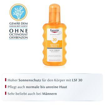 Eucerin® Sensitive Protect Sun Spray Transparent LSF 30
