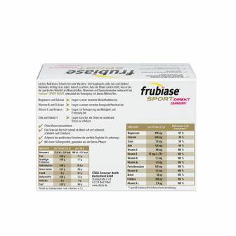 frubiase® Sport Direkt Granulat Cranberry