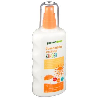 gesund leben Sonnenspray sensitiv für Kinder