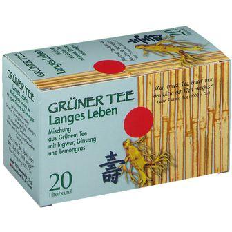 Grüner Tee + Ingwer + Ginseng Filterbeutel