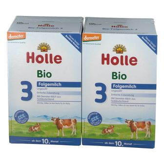 Holle Bio-Folgemilch 3 Doppelpack