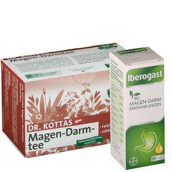 Iberogast® und Dr. Kottas Magen-Darmtee