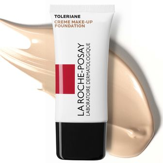 La Roche Posay Toleriane Creme Make-up 04 + 100 ml La Roche Posay reinigendes Handgel GRATIS