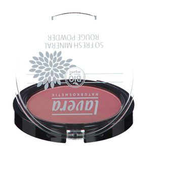 lavera SO FRESH MINERAL ROUGE POWDER 07 coumbine pink