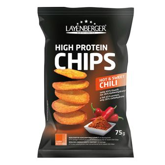 LAYENBERGER® LOWCARB.ONE Chips Hot & Sweet Chili