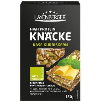 LAYENBERGER® LOWCARB.ONE Knäckebrot Käse-Kürbiskern