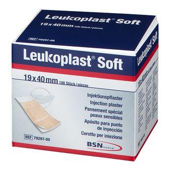 Leukoplast® Soft Injektionspflaster 0,04 m x 1,90 cm