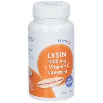 MediFit Lysin 1.000mg + Vitamin C
