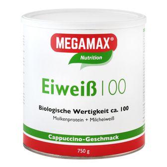 MEGAMAX® Nutrition Eiweiß 100 Cappuccino-Geschmack