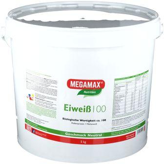 MEGAMAX® Nutrition Eiweiß 100 Geschmack Neutral