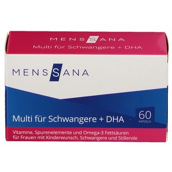 MensSana Multi für Schwangere + DHA
