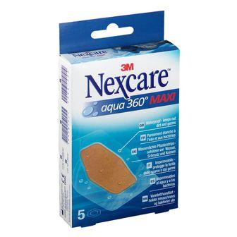 Nexcare™ Aqua 360° Pflaster Maxi transparent steril