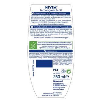 NIVEA® Lemongrass & Oil Pflegedusche