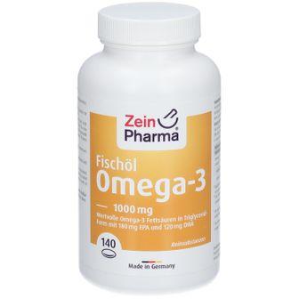 Omega 3 Kapseln Seefischöl 1000 mg ZeinPharma