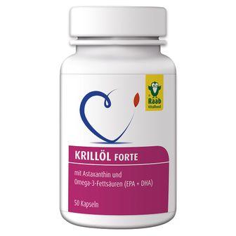 Raab® Vitalfood Krillöl Forte