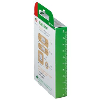 Ratioline® elastic Pflasterstrips 4 Grössen sortiert