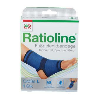 Ratioline® Fußgelenkbandage Gr. L