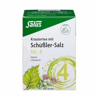 Salus® Kräutertee mit Schüßler-Salz Nr. 4 Kalium chloratum