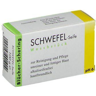 Schwefel Seife