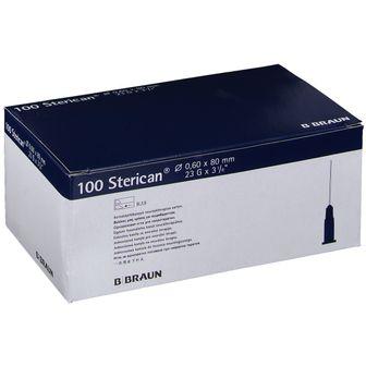 Sterican® zur Neuraltherapie G23 x 3 1/8 Zoll 0,60 x 80 mm blau