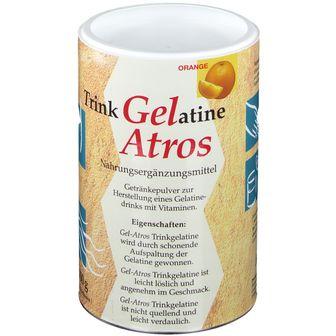 Trink Gelatine Atros Orange