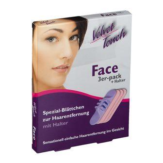Velvet Touch Face 3er Set