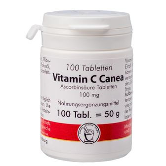 Vitamin C 100 mg Canea Tabletten