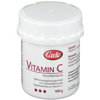 Vitamin C Ascorbinsäure Caelo HV-Packung