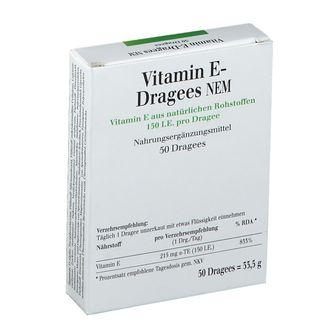 Vitamin E-Dragees NEM