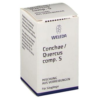Weleda Conchae/Quercus Comp. Comp. S Trituration