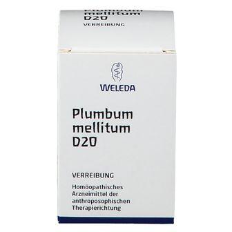 Weleda Plumbum Mellitum D20 Trituration