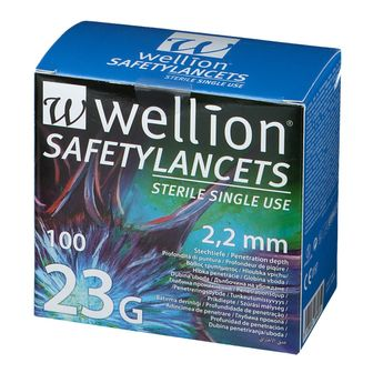 Wellion® Safetylancets steril 2,2 mm 23 G