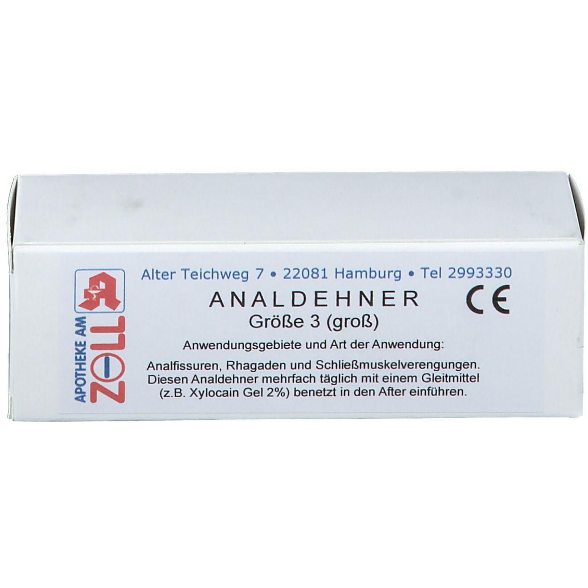 Analdehner Gr. 3 groß