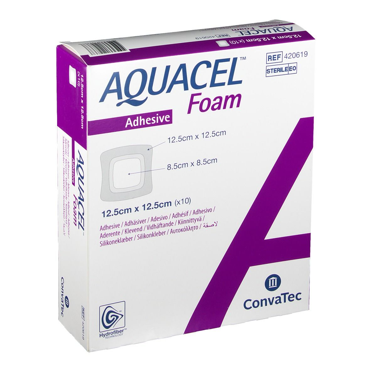 AQUACEL FOAM ADH 12.5X12.5