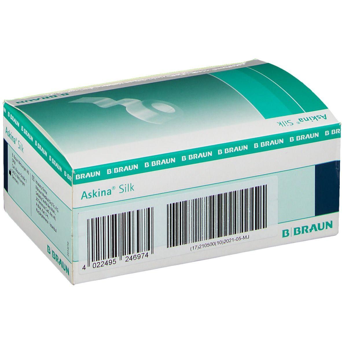 Askina® Silk Seidenpflaster 5 m x 2,5 cm