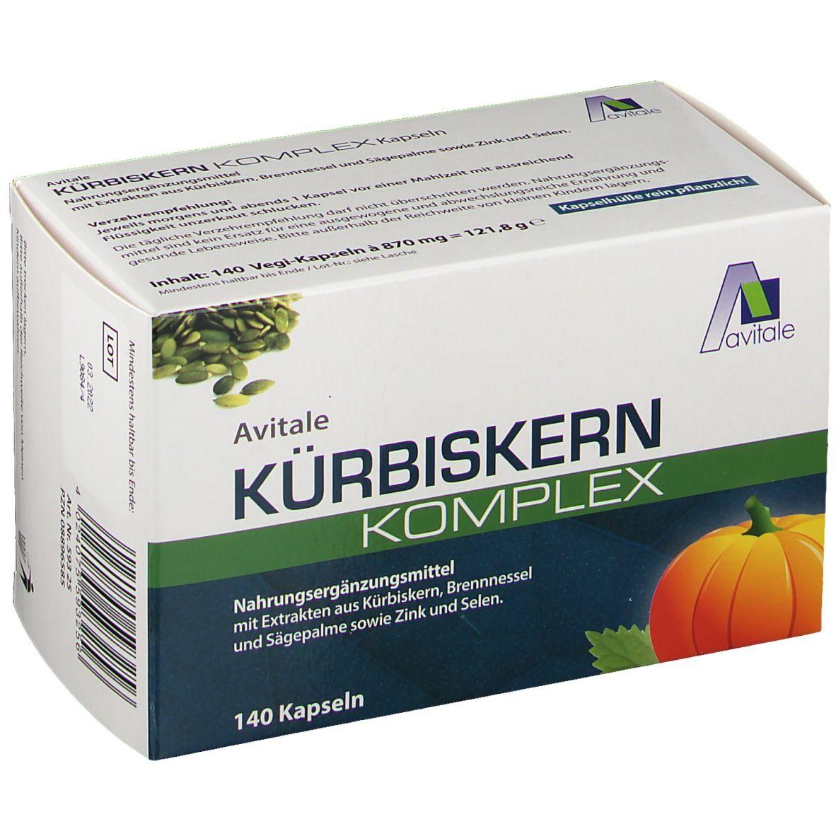 Avitale Kürbiskern Komplex