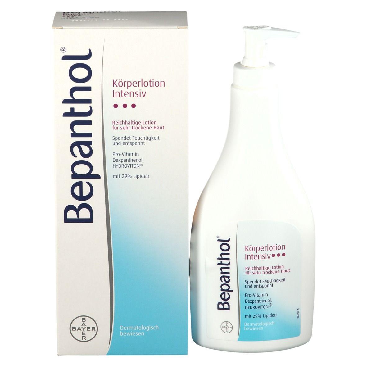 Bepanthol® Intensiv Körperlotion für sehr trockene Haut Pumpspender
