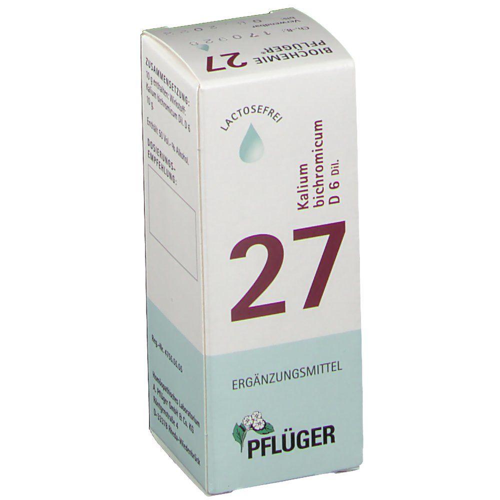 Biochemie Pflüger® 27 Kalium bichromicum D6