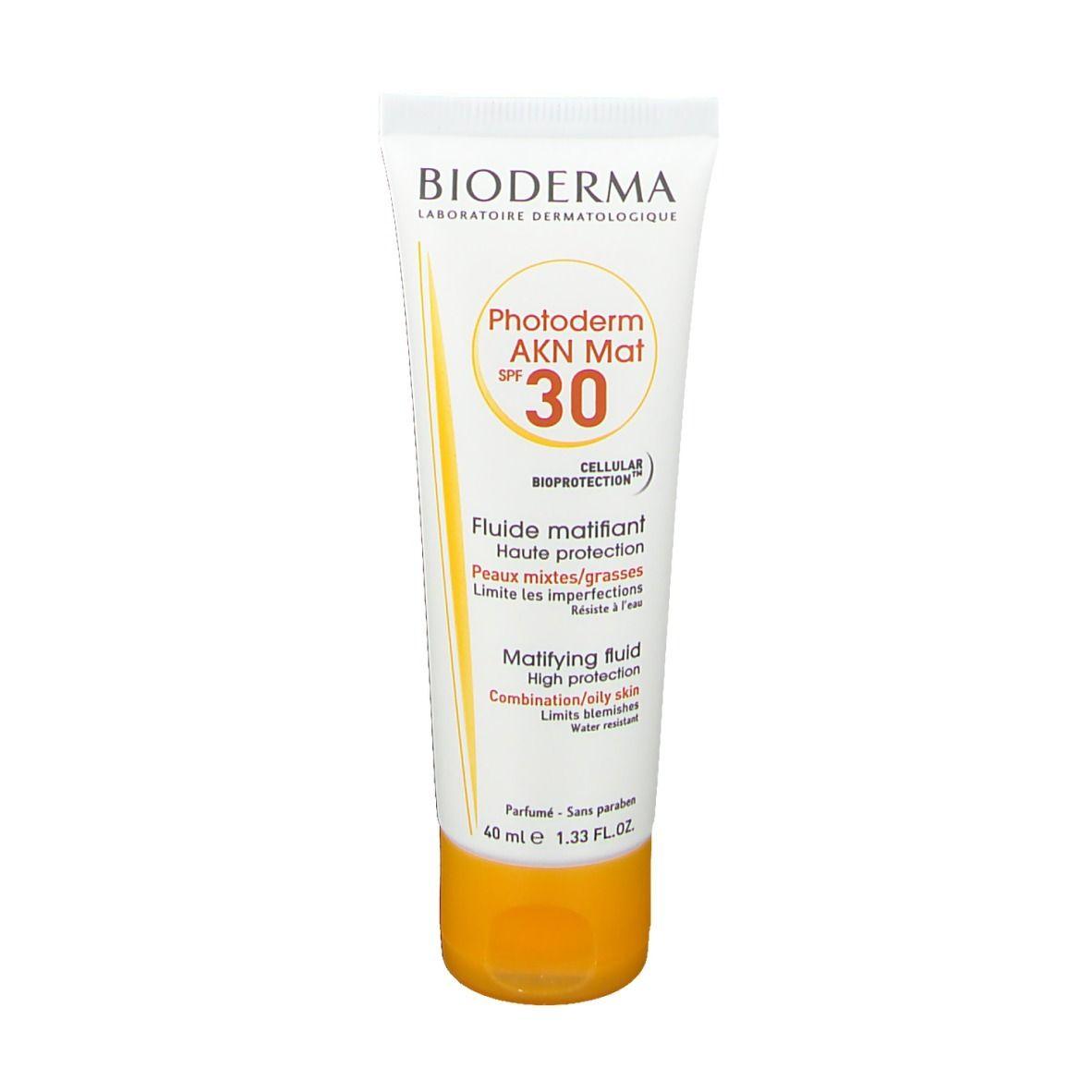 BIODERMA Photoderm AKN MAT Sonnenfluid SPF 30