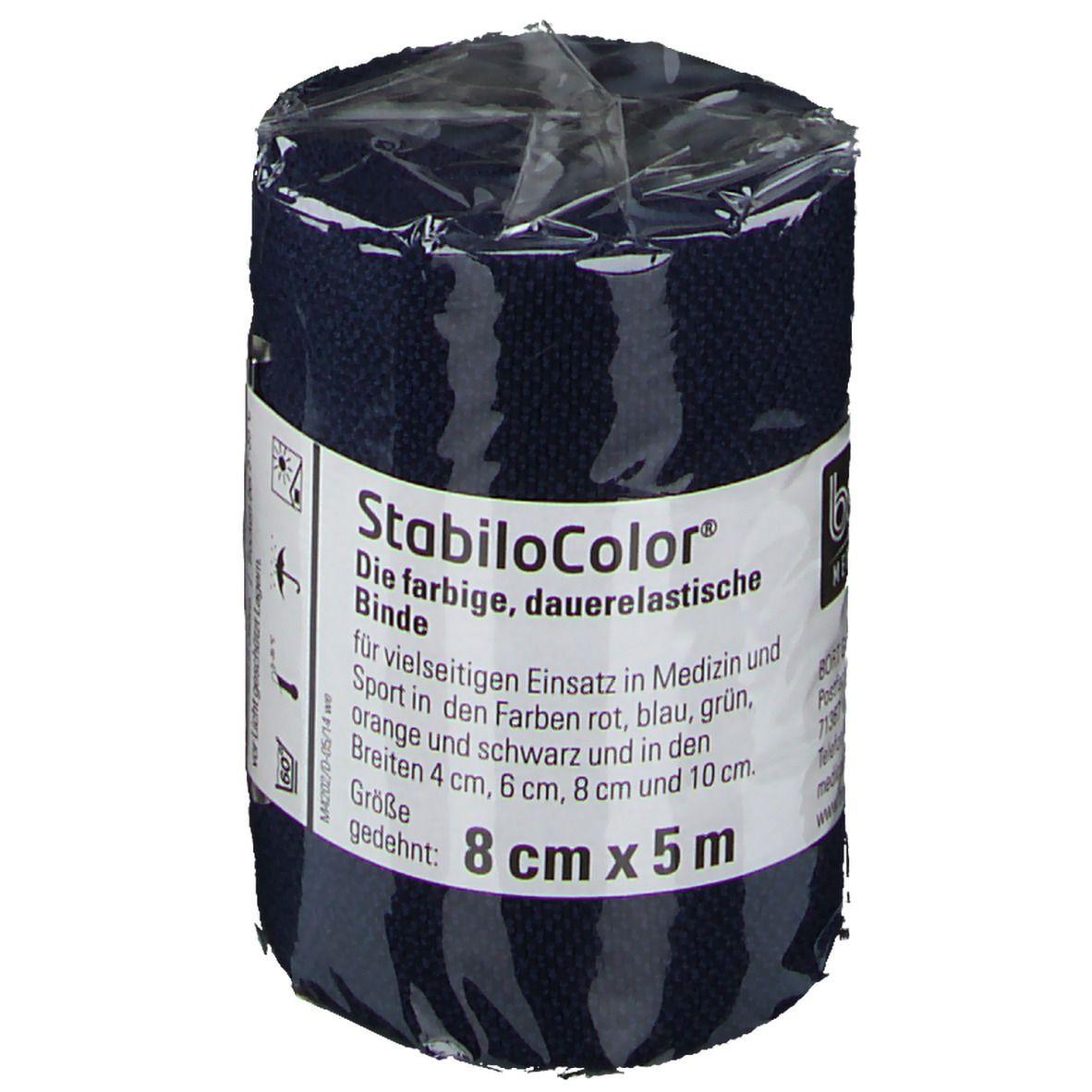 BORT StabiloColor® Binde 8 cm blau
