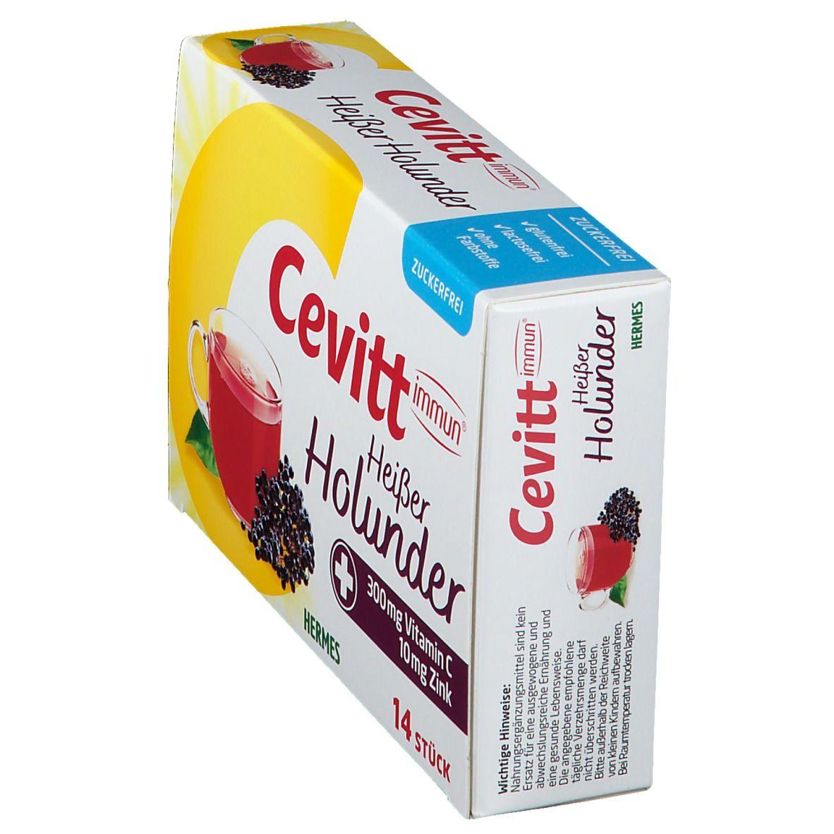 Cevitt immun® heißer Holunder zuckerfrei