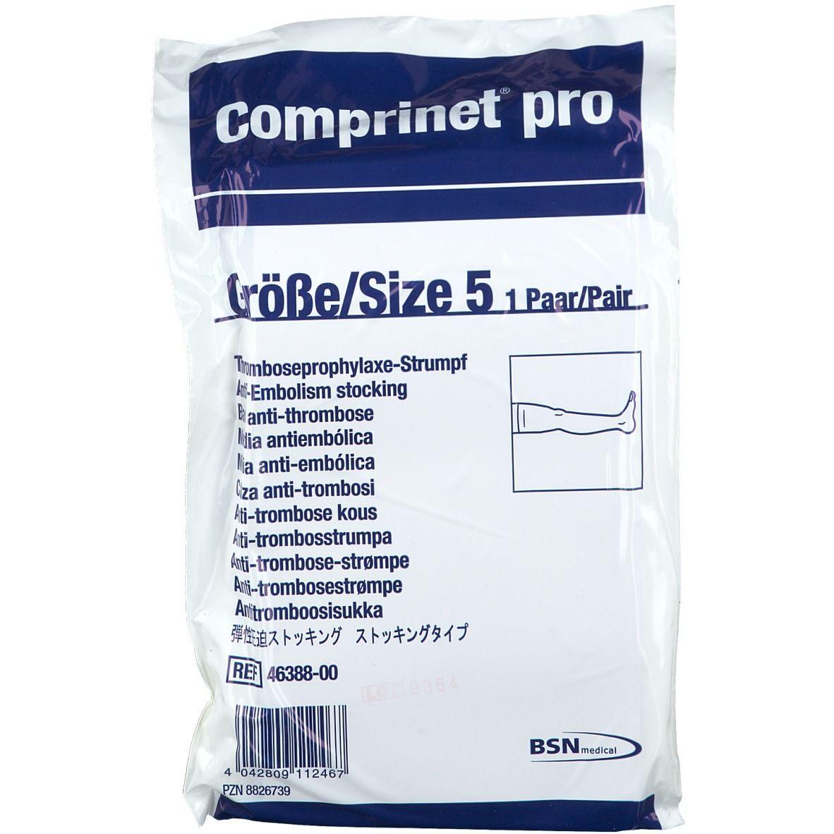 Comprinet® pro Strumpf oberschenkellang Gr. 5