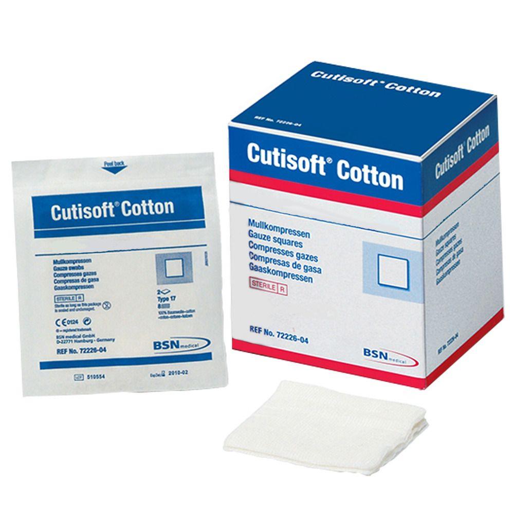 Cutisoft® Cotton unsteril 10 cm x 10 cm