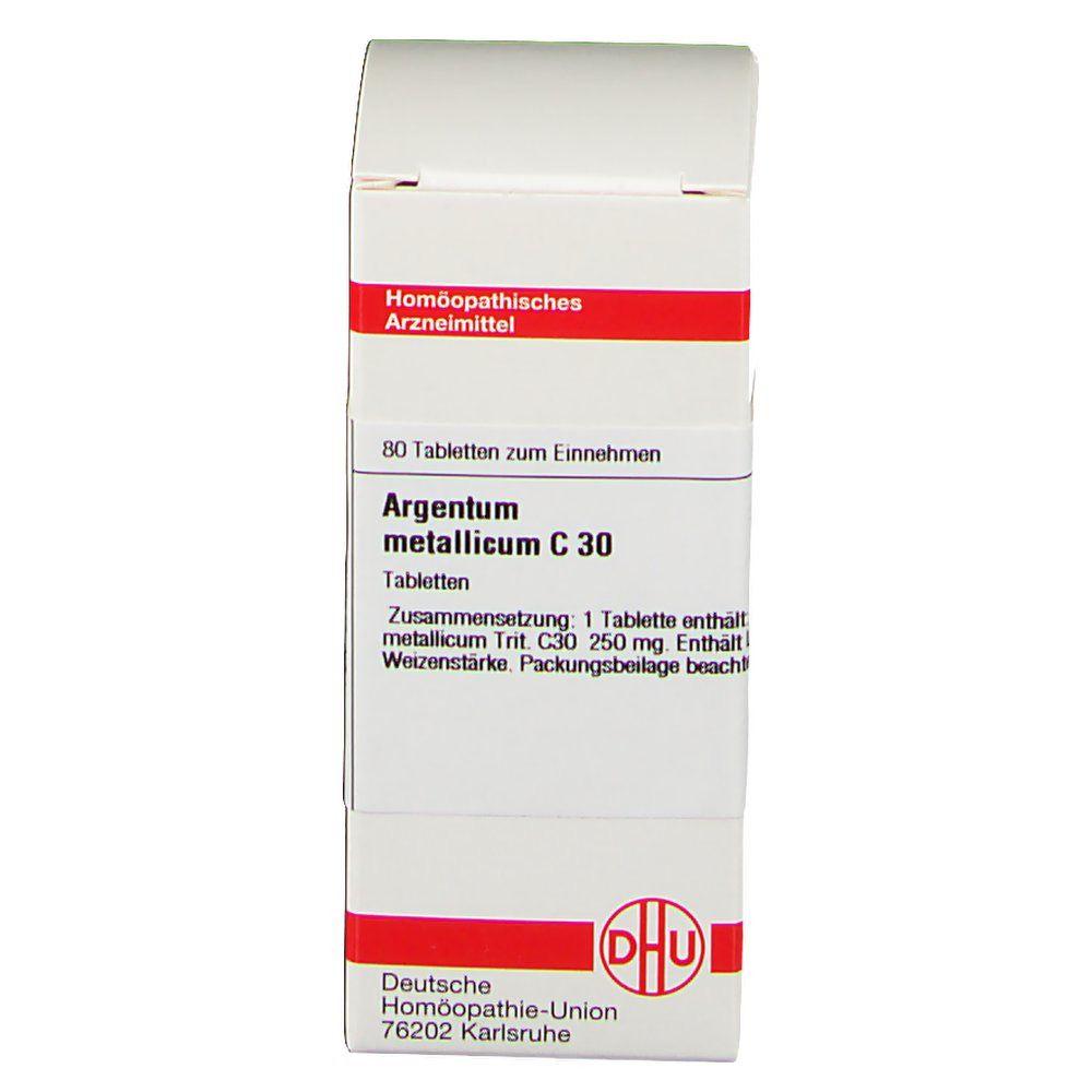 DHU Argentum Metallicum C30